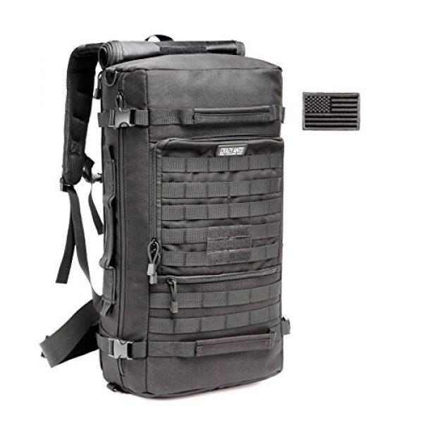 CRAZY ANTS Tactical Backpack 1 CRAZY ANTS Military Tactical Backpack Hiking Camping Shoulder Bag Upgraded Version