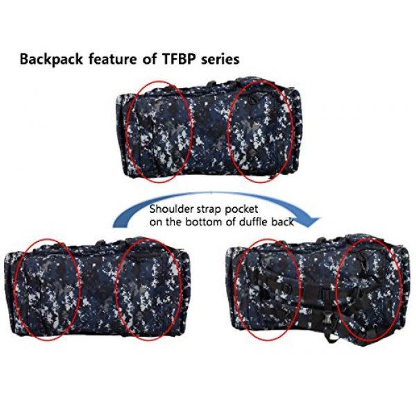 "Nexpak Tactical Backpack 6 Nexpak 26"" 3800cu.in Tactical Duffel Range Backpack TFBP126 DMBK (Navy Blue) Digital Camouflage"