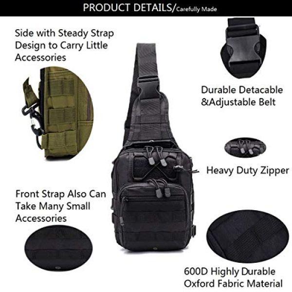 esbuy Tactical Backpack 2 Tactical Backpack Outdoor Shoulder Bag Satchel Sling Chest Packs Daypacks