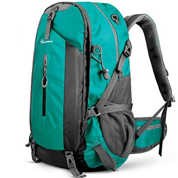 OutdoorMaster Tactical Backpack 1 OutdoorMaster Hiking Backpack 45L - Travel Carry-On Backpack w/Waterproof Cover