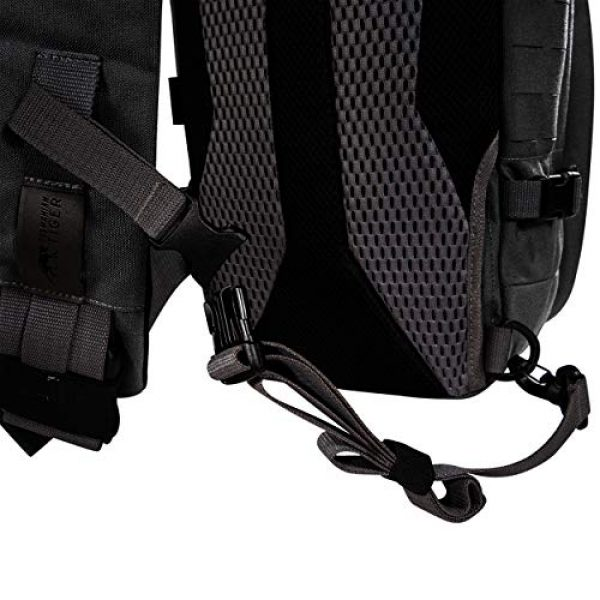 Tasmanian Tiger Tactical Backpack 6 Tasmanian Tiger TAC Sling Pack 12, Tactical Sling Bag with MOLLE, YKK Zippers, Hydration Compatible