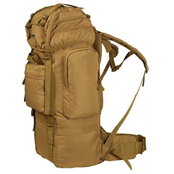 Seibertron Tactical Backpack 2 Seibertron 65L Internal-frame Waterproof Backpack Rain Cover Included
