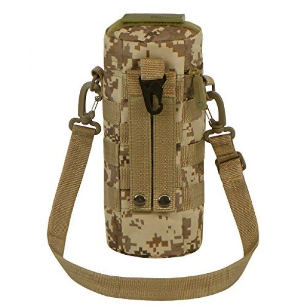 East West U.S.A Tactical Backpack 3 East West U.S.A RTC521 Tactical Water Bottle Pouch Military Molle Pack Gear Waist Back Pack