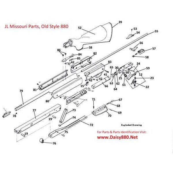 JL Missouri Parts Air Gun Accessory 5 JL Missouri Parts Daisy Powerline 922 822 880 881 Old Style Pump Piston Arm Pin Plastic Bushing Gun BB Air Rifle Part