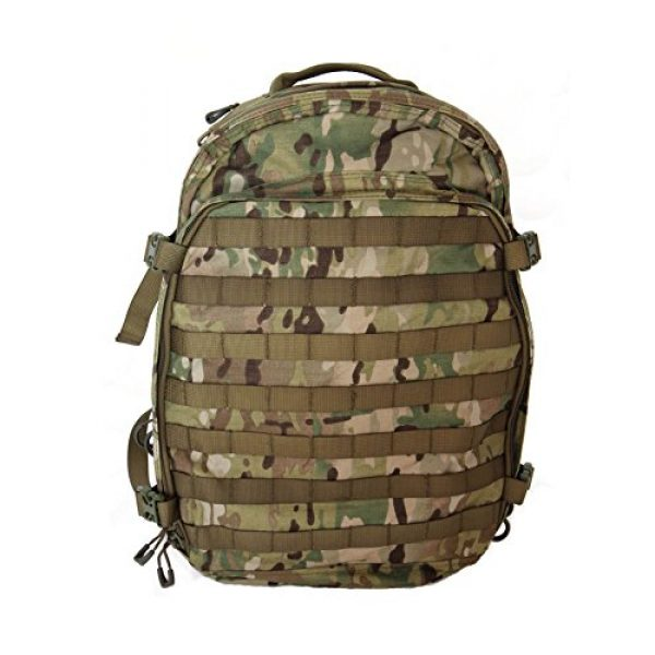 Hanks Surplus Tactical Backpack 1 Hank's Surplus Military Bug Out Rucksack Tactical Assault Multi Day 48L Backpack