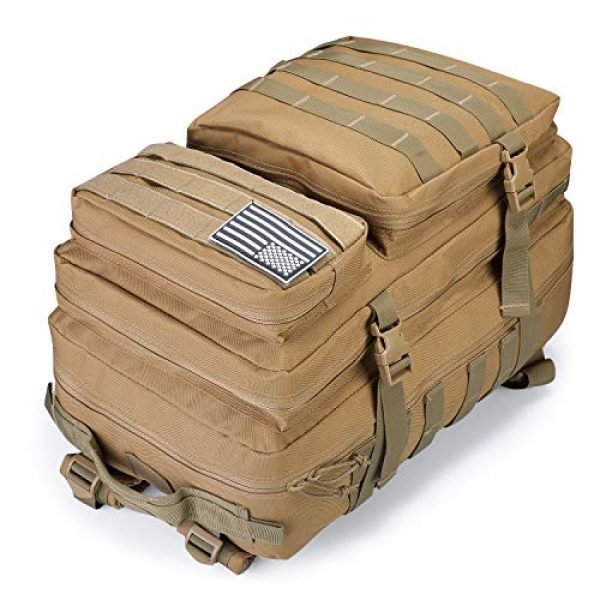 G4Free Tactical Backpack 3 G4Free Military Tactical Backpack 3 Day Assault Pack Molle Bug Out Bag 40L Rucksack