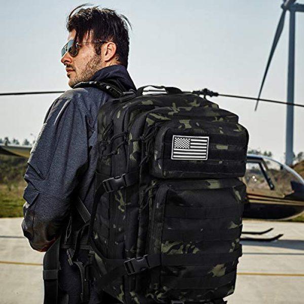 Monoki Tactical Backpack 2 Monoki Military Tactical Backpack, Army 3 Day Assault Pack,42L Molle Bag Rucksack