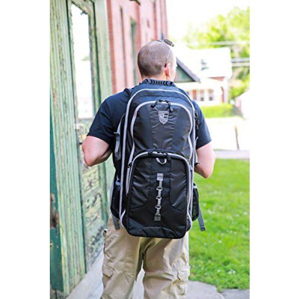 Elite Survival Systems Tactical Backpack 2 Elite Survival Systems ELS7725-B Stealth