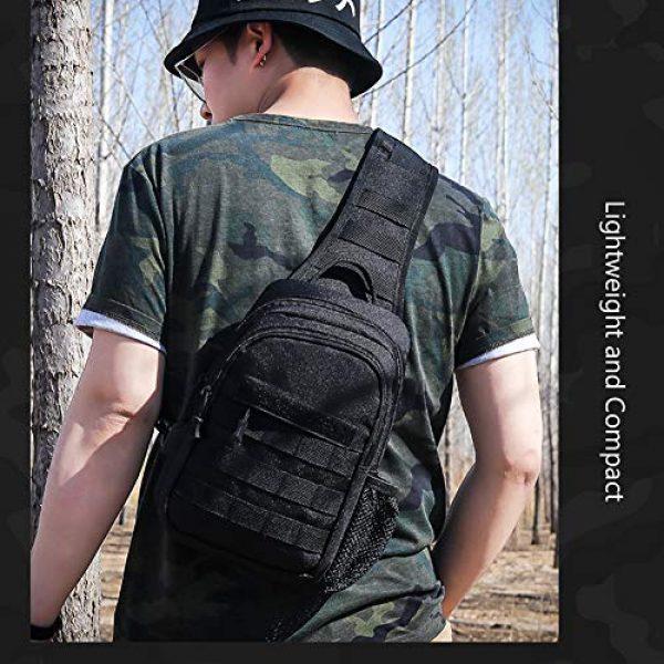 TEGOOL Tactical Backpack 3 Tactical Sling Bag,Chest Shoulder Small Backpack,Casual Satchel Day Pack