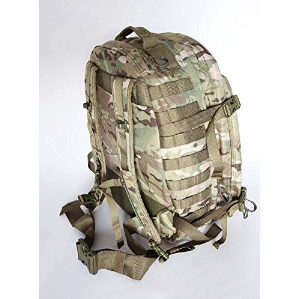 Hanks Surplus Tactical Backpack 3 Hank's Surplus Military Bug Out Rucksack Tactical Assault Multi Day 48L Backpack