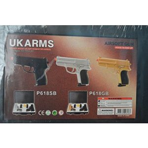 CYMA Airsoft Pistol 1 p.618 (2) air sport guns with black carrying case(Airsoft Gun)