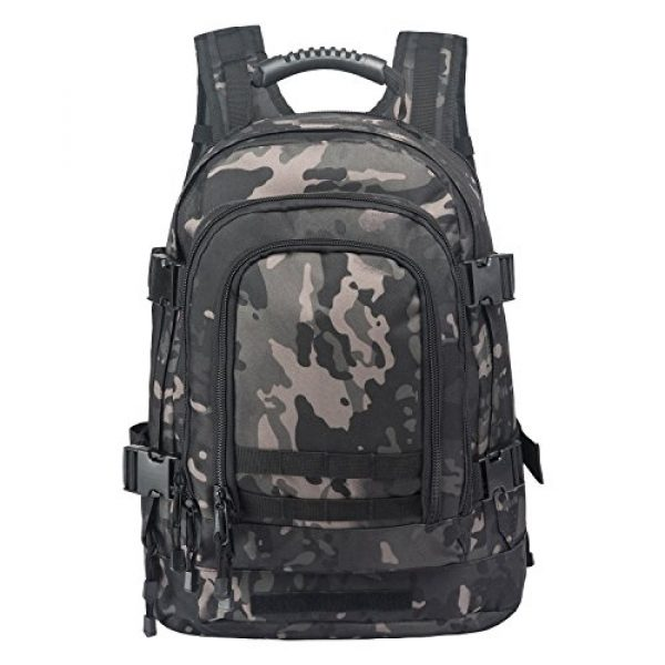 ARMYCAMO Tactical Backpack 2 ARMYCAMO Expandable Backpack 39L-64L Large Military Tactical Bug Out Bag Daypack