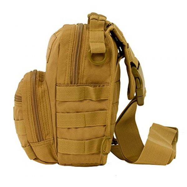 Seibertron Tactical Backpack 2 Seibertron Tactical Outlaw Sling Pack Molle Multifunctional Day Bag
