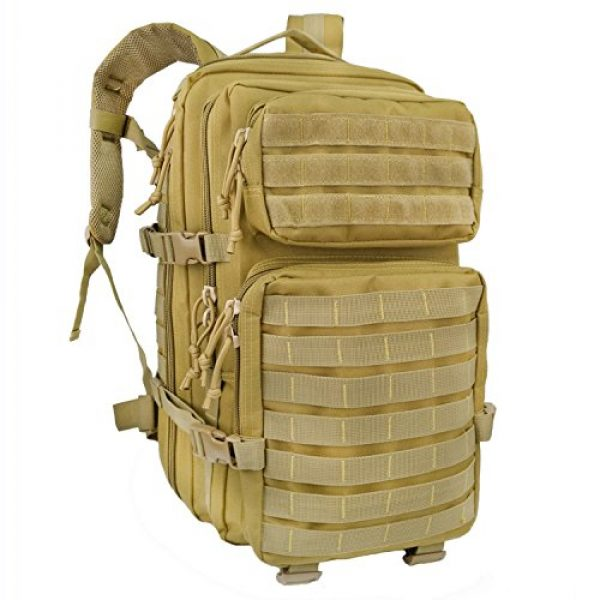 WEDO Tactical Backpack 1 Tactical Backpack for Men, Large Black Military Army Molle Bag Tactical Backpacks