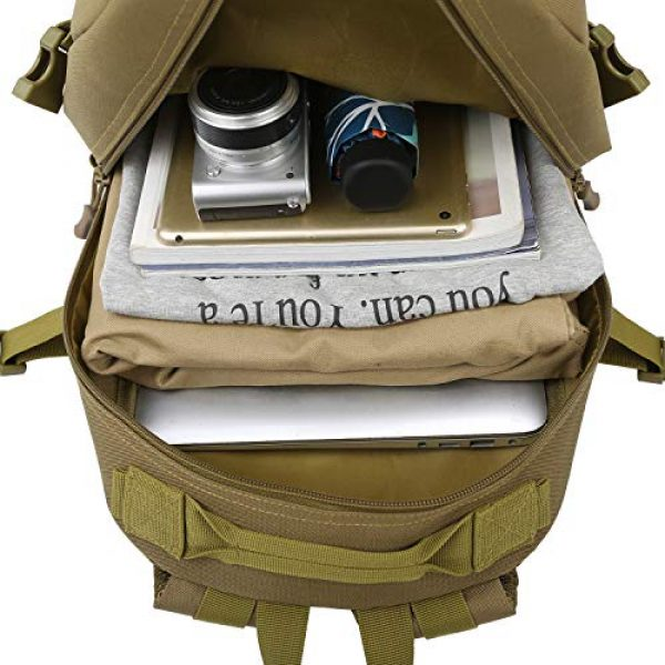 RUI NUO Tactical Backpack 7 RUI NUO 35L Military Backpack Tactical Backpack Army Backpack MOLLE Assault Backpack Tactical Combat Backpack Emergency Bag for Hunting Hiking Camping & Outdoor Activity