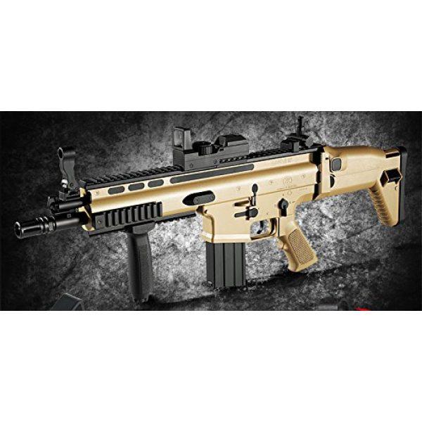 K-Crew Airsoft Rifle 2 K-Crew Academy FN Scar-L CQC Automatic Electric Gun BB Gun #17410