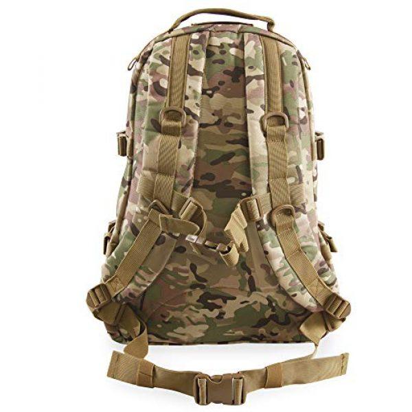 HIGHLAND TACTICAL Tactical Backpack 3 Highland Tactical Men's Basecamp Heavy Duty Tactical Backpack