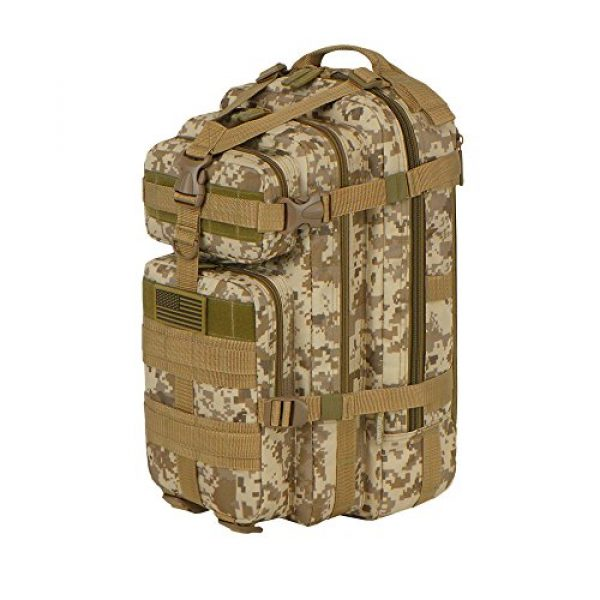 East West U.S.A Tactical Backpack 2 East West U.S.A RTC502 Tactical Molle Military Assault Rucksacks Backpack