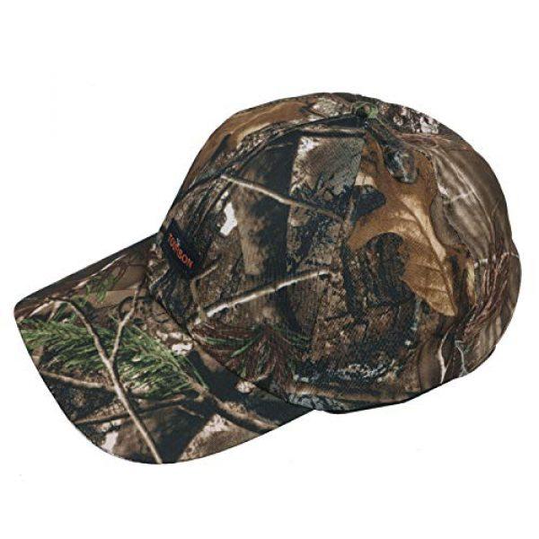 TOURBON Tactical Hat 3 TOURBON Camo Hat Hunting Nylon Cap Tactical Baseball Cap