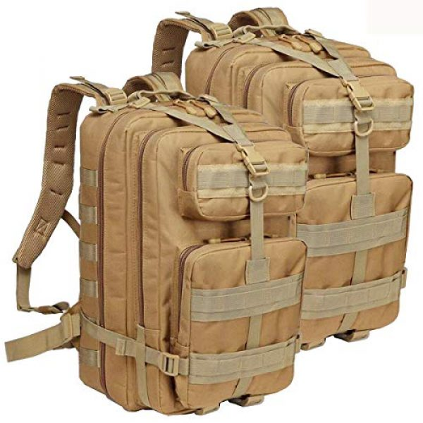 ATBP Tactical Backpack 1 ATBP Tactical Rucksack Backpack Military Hunting Hiking Daypack Large Army Molle Backpack