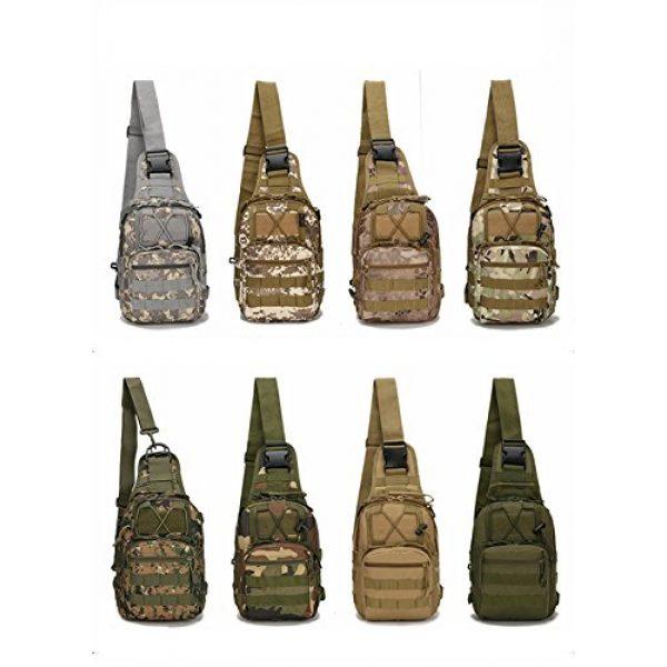Mcdobexy Tactical Backpack 2 Mcdobexy Unisex Molle Tactical Assault Sling Bag