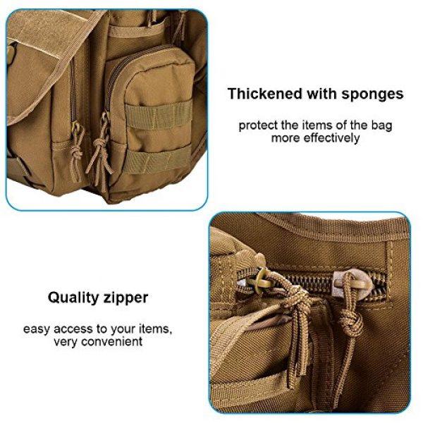 Vbestlife Tactical Backpack 6 2Colors Durable Men Military Chest Shoulder Bag Pack Military Sling Bag Chest
