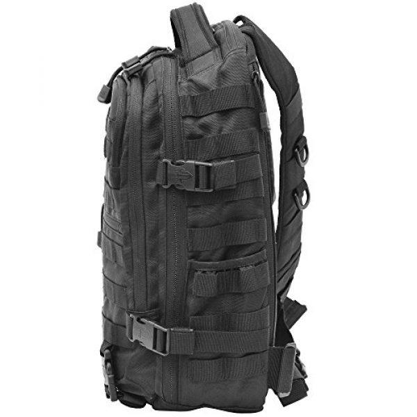 UTG Tactical Backpack 3 UTG Ambi 24/7 Cross Body Shoulder Vital Sling Pack, Black