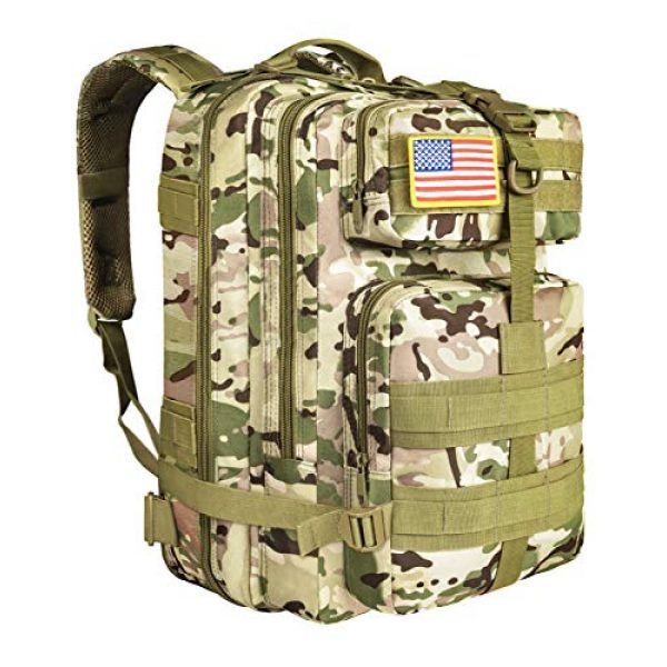 NOOLA Tactical Backpack 1 NOOLA Military Tactical Backpack Large Army 3 Day Assault Pack Molle Bag Rucksack