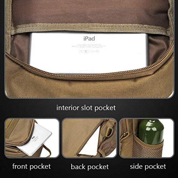 TEGOOL Tactical Backpack 5 Tactical Sling Bag,Chest Shoulder Small Backpack,Casual Satchel Day Pack