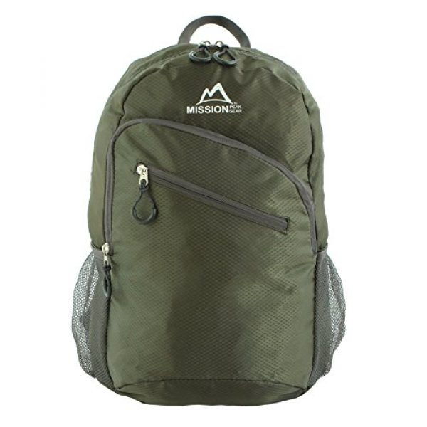 Mission Peak Gear Tactical Backpack 3 Mission Peak Gear Lite 1800 Foldable Packable Hiking Backpack Daypack, Ultra Lightweight, Durable Light Backpack, Camping, Outdoor, Travel, Biking, School, Carry On Backpack