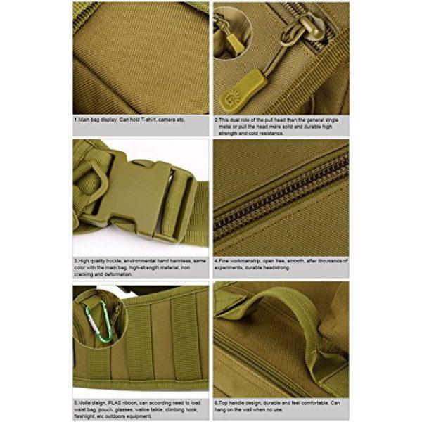 Huntvp Tactical Backpack 5 Huntvp Tactical Military Sling Pack Chest Daypack Molle Backpack Shoulder Bag