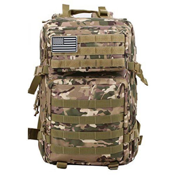 Luckin Packin Tactical Backpack 3 Luckin Packin Tactical Backpack,Military Backpack,Molle Bag Rucksack Pack,45 Liter Large