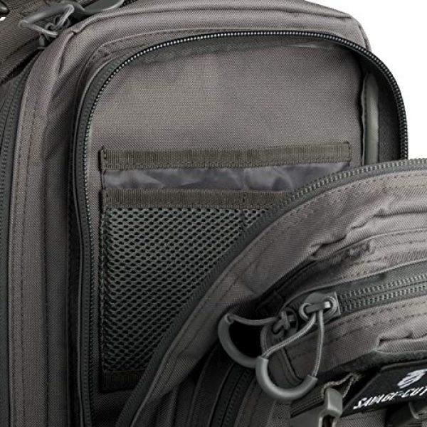Savage Cut Tactical Backpack 4 Savage Cut Waterproof Tactical Bag - Military Laser Cut, Heavy Duty Survival Backpack (Black)