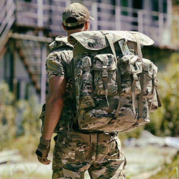 MT Tactical Backpack 6 Military Rucksack Alice Pack Army Backpack and Butt Pack