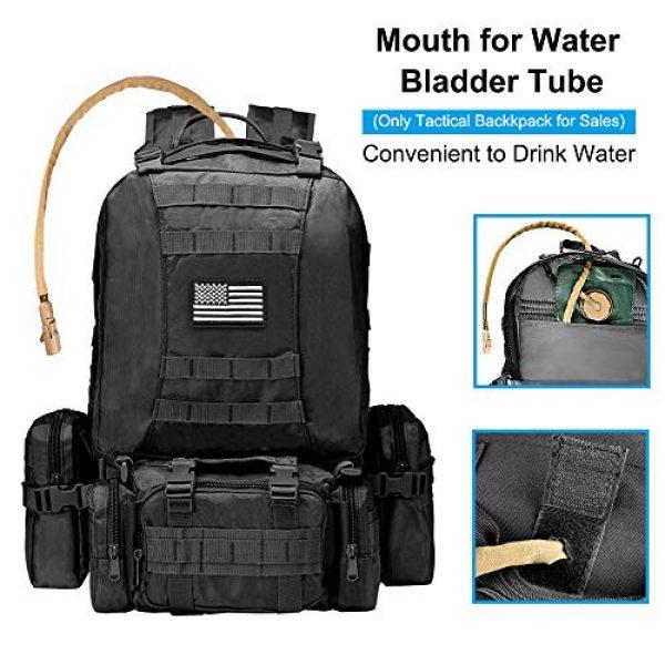 NOOLA Tactical Backpack 3 NOOLA Tactical Military Backpack Army Assault Pack Molle Bag Built-up Rucksack