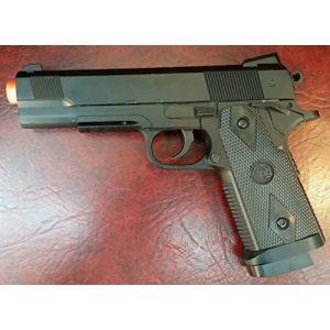 SPRING AIRSOFT GUN Airsoft Pistol 1 zm25 black finish heavy duty metal spring airsoft gun pistol(Airsoft Gun)