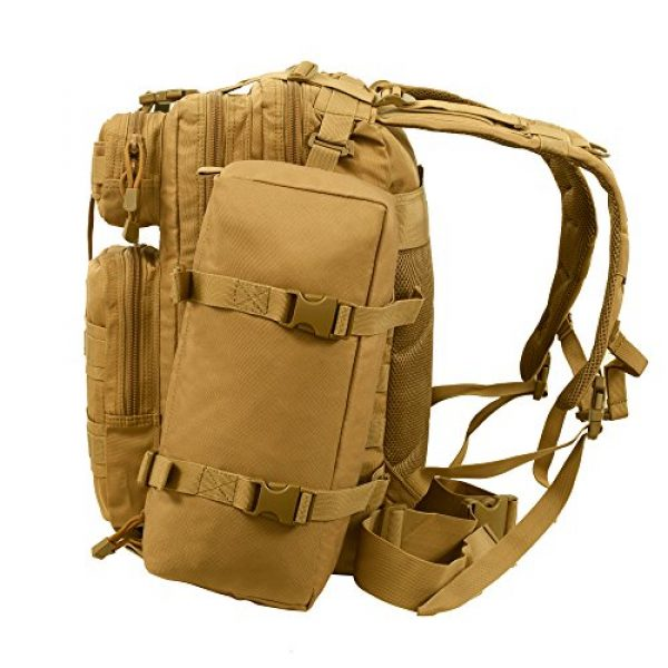 Seibertron Tactical Backpack 5 Seibertron Falcon Water Repellent Hiking Camping Backpack Compact Pack Summit Bag