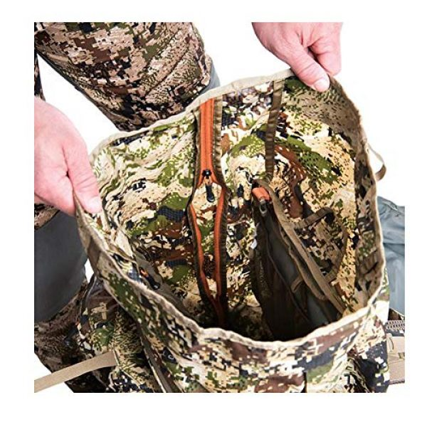 SITKA Gear Tactical Backpack 4 Sitka Mountain Hauler 4000 Framed Expandable Hunting Pack