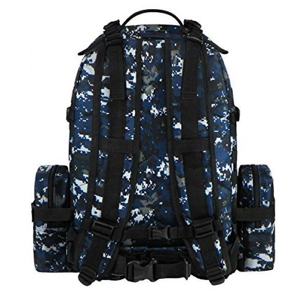East West U.S.A Tactical Backpack 3 East West U.S.A RTC505 Tactical Molle Military Rucksacks Assault Combat Trekking Bag