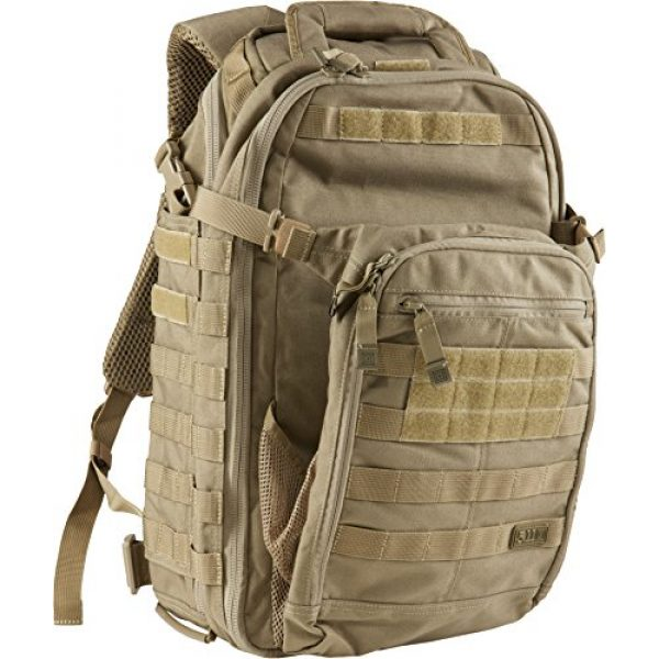 5.11 Tactical Backpack 3 5.11 Tactical All Hazards Prime Backpack, 29 Liters Capacity, Laptop Compartment, Style 56997, Sandstone