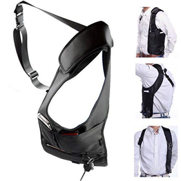 ECYC Tactical Backpack 1 ECYC Men Security Holster Strap Messenger Bags Underarm Shoulder Bag Burglar Phone Pouch Tactical Bag
