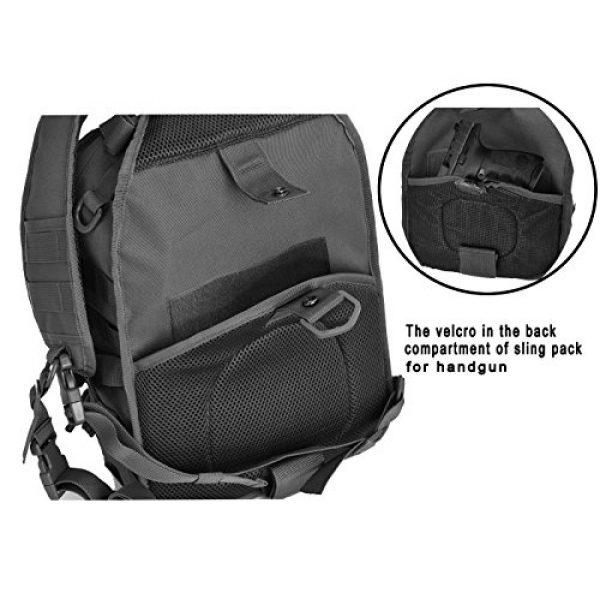 Gowara Gear Tactical Backpack 4 Gowara Gear Tactical Sling Bag Pack Military Backpack Range Bags Black