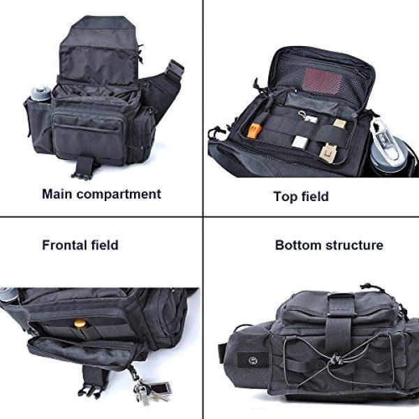 SHANGRI-LA Tactical Backpack 5 SHANGRI-LA Multi-functional Tactical Messenger Bag Camera Molle Assault Gear Sling Pack
