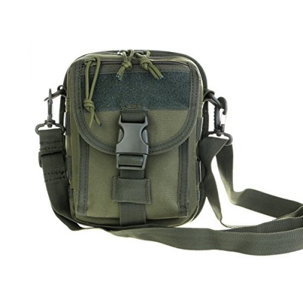 ABD Tactical Backpack 1 ABCAMO Nylon Waterproof Solid Color Outdoor One Shoulder Tactical Sport Bag