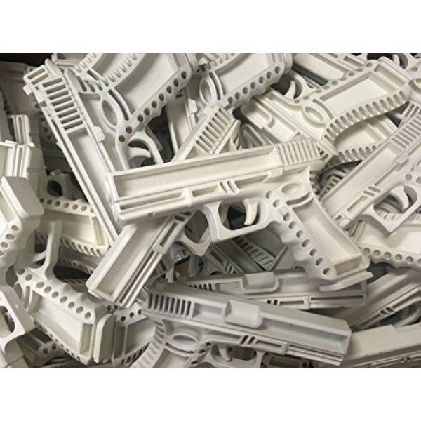GARRET MACHINE Rubber Training Pistol Blue Gun 6 GARRET MACHINE Plastic Inert Training Pistol Compatible with Glock (Black, 17)