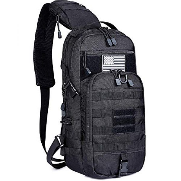 G4Free Tactical Backpack 5 G4Free Tactical Sling Backpack for Every Day Carry