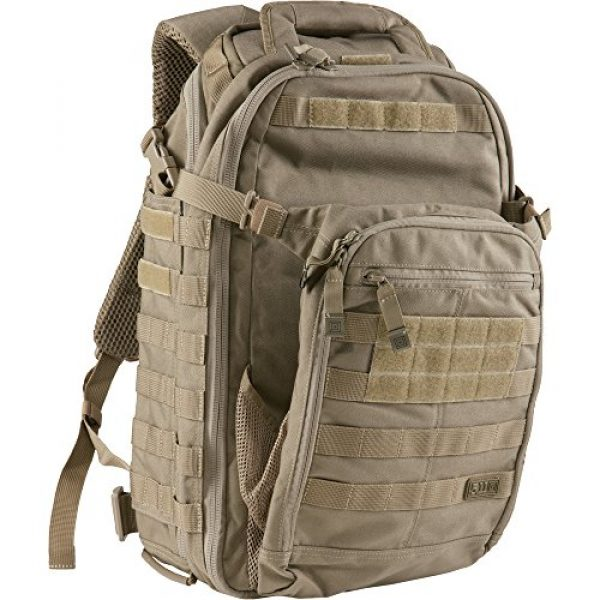 5.11 Tactical Backpack 6 5.11 Tactical All Hazards Prime Backpack, 29 Liters Capacity, Laptop Compartment, Style 56997, Sandstone
