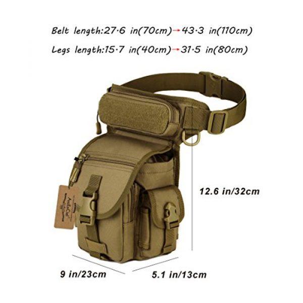 ArcEnCiel Tactical Backpack 6 ArcEnCiel Leg Bag Tactical Military Drop Waist Thigh Hip Fanny Pack Tool Gear Pouch