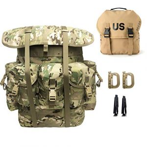 MT Tactical Backpack 1 Military Rucksack Alice Pack Army Backpack and Butt Pack