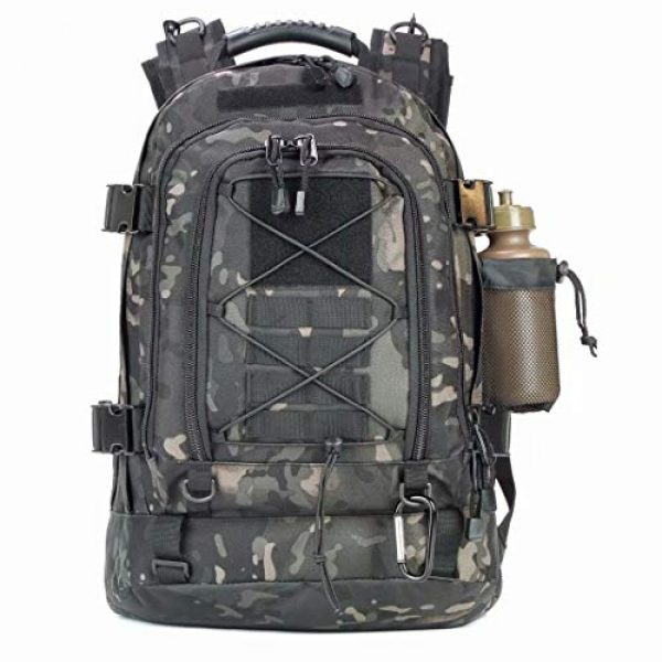 ARMY PANS Tactical Backpack 2 PANS Backpack for Men Large Military Backpack Tactical Travel Backpack for Work,School,Camping,Hunting,Hiking